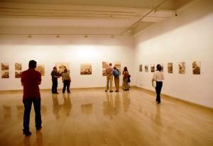 """Una sala de la exposición """"Una imagen de España"""" en Sevilla: Casa de la Provincia. Mayo 2012"""