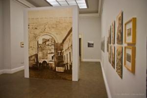 """Sala de la Calcografía Nacional en Madrid con la exposición """"Una imagen de España"""""""