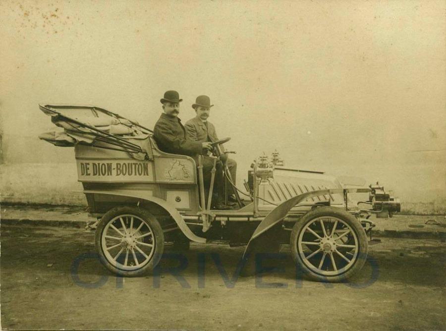 Automovil De Dion Bouton modelo 1903