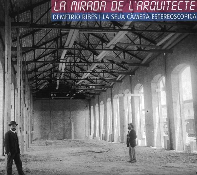 Demetrio Ribes. Fotografía del interior de una nave industrial. h 1910