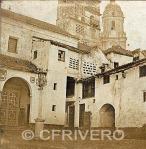 Fotografía de Gaudin Frères_Málaga_Convento de Santa Clara. Mitad de par estereoscópico. Albúmina, 1857