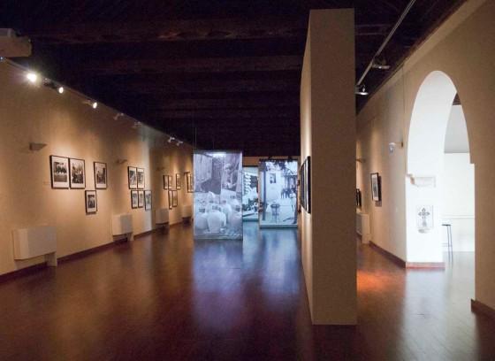 Sala del Espacio Santa Clara, exposición Atesorar España. Sevilla 2012