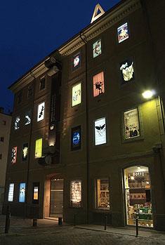 Fachada del Museu del Cinema en Gerona (Cataluña)