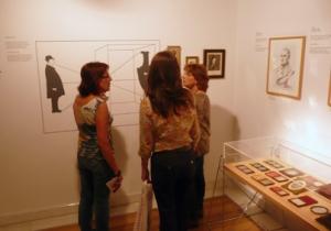 Visitantes en el Photomuseum de Zarautz
