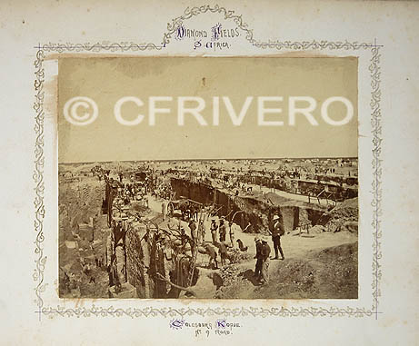 Gray. Diamond Fields. Africa. Colesberg Kopje. Nº 9 Road. [Kimberley (Sudáfrica)] Ca. 1872 (Col. Fernández Rivero)