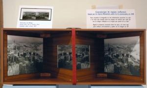 Estereoscopo de Wheatstone expuesto en el Ateneo (Fot. Darío Fernández)