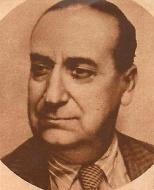 """José Luis Demaría López, Campúa. Retrato publicado en """"Blanco y Negro"""" en 1935"""