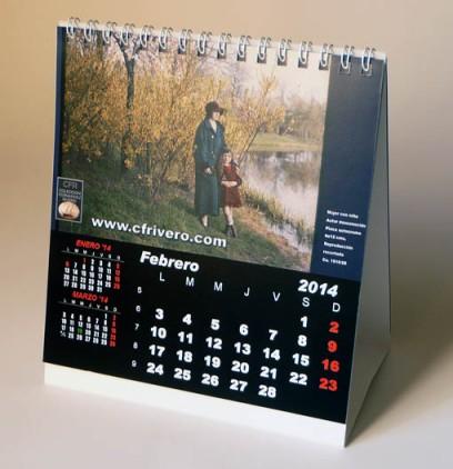 Calendario de la CFRivero para 2014