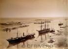 Port-Said hacia 1869, fotografíado por Hipolyte Arnaux