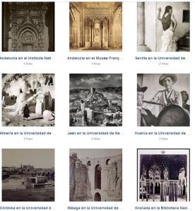 Andalucía en las fototecas