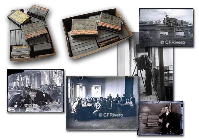Colección de negativos de cristal con escenas de la Málaga de 1900. Anónimo. (Col. Fernández Rivero)