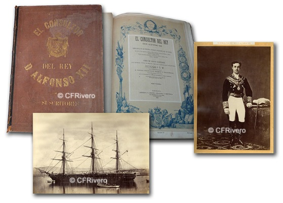 """Fotografías de Mariezcurrena incluidas en el libro """"El consultor del Rey"""" 1875"""