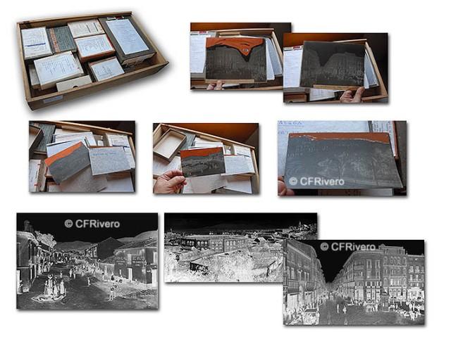 Colección de imágenes de Málaga en negativos de celuloide. Casa Thomas y Miguel Osuna, hacia 1900
