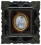 Anónimo. Retrato de dama. [Familia d'Orleans]. Daguerrotipo. Francia, 1843 (Col. Fernández Rivero)