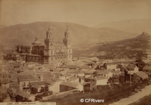Laurent, Jean (1816-1886) Madrid. Jaen, vista general. Albúmina. Ca. 1865