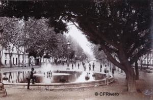 Valentine, James (1815-1879) Aberdeen. Alameda de Málaga. Albúmina. 1880
