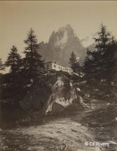 Soulier, Charles (1830-1900) Paris. Le Montanvers, Chamonix (Francia). Albúmina. Década 1860