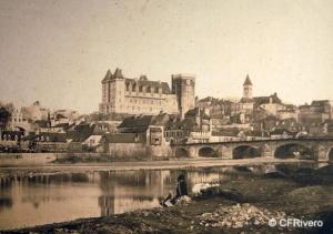 Heillmann, Jean-Jacques (1822-1859) Pau. Castillo de Pau (Francia). Papel a la sal. 1850