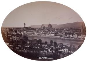 Fratelli Alinari (Leopoldo 1832-1865 y Giussepe 1836-1892) Florencia. Florence, panorama nº 157. Papel a la sal. Ca. 1855