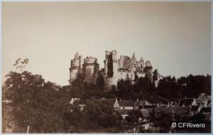 Beaucorps, Gustave de (1825-1906) Paris. Castillo de Pierrefonds - Francia. Albúmina. 1857