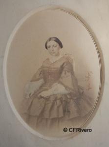 Le Gray, Gustave (1820-1884) París. Retrato de señora. Albúmina, 1855