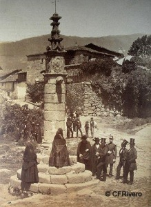 Jarandilla de la Vera en 1858
