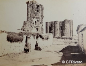Alguacil Blázquez, Casiano (1832-1914) Toledo. Ruinas del Castillo de Polán (Toledo). Albúmina. Ca. 1866