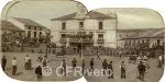 Fiesta de toros en la plaza de Riaza (Segovia)