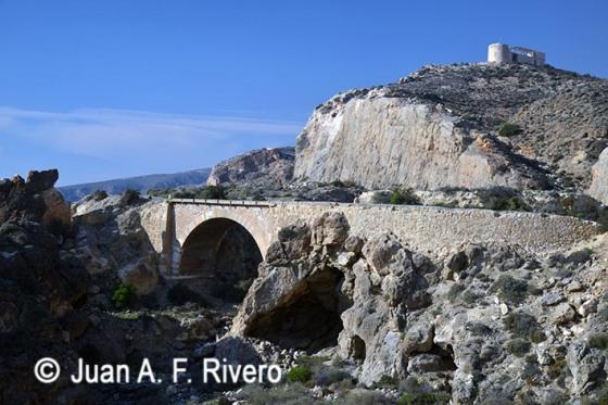 Fotografía de 2014 del Barranco de los Tajos (Almería)