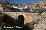 Puente sobre el barranco de la Cala de los Ahogados, Almería. 2014