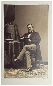 Disderi. Retrato de Juan Bravo Murillo. París. Ca. 1860. Albúmina