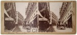 J. Roquer. Lisboa, Una calle. Ca. 1900. Estereoscopia en Gelatina argéntica