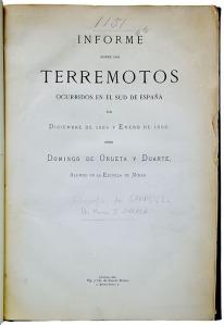 Portada del libro de Domingo de Orueta.