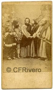 José Pavón y Gómez. Prendimiento de Jesús. Sevilla, ca. 1870. Albumina