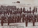 Jean Laurent y Cia. [Colegio de Guardias Jóvenes] Formación en columna. Valdemoro (Madrid), 1878. Albúmina (Col. Fernández Rivero)