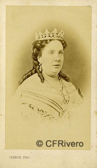 Franck. Isabel II reina de España.
