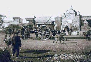 Autor desconocido. Fuenteolletas. Málaga, 1900-1905. Gelatina de plata sobre papel.