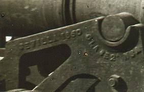 Ferrier-Soulier. Vue a Málaga. [Detalle de uno de los cañones situados en la Batería de San José en Málaga], 1863. Colodión sobre vidrio en formato estereoscópico.