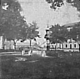 Ferrier-Soulier. 7083 Malaga. Fontaine du Salon de Bilbao. 1863. Albúmina. Par estereoscópico