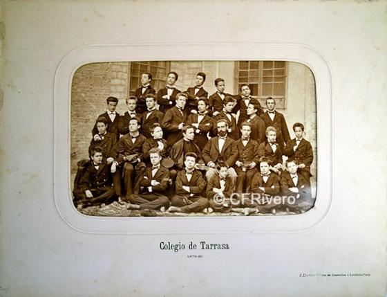 Jules David. Colegio de Tarrasa (Barcelona). 1879.