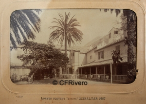Jules David. Loreto Convent. Gibraltar, 1907. Albúmina
