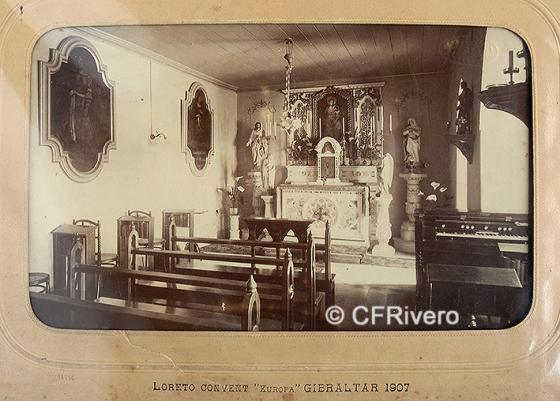 "Jules David. Loreto Convent ""Europa"". Gibraltar, 1907. Albúmina"
