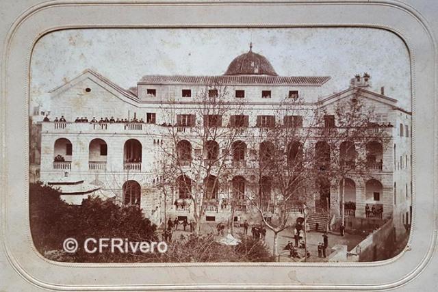 Jules David. Escuelas Pías. Mataró (Barcelona). 1879. Albúmina