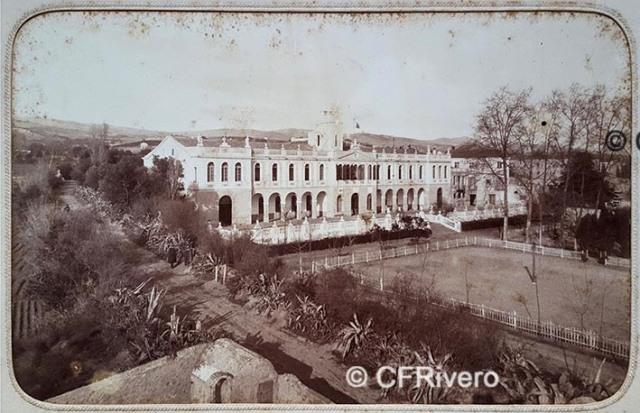 Jules David. Colegio Valldemia. Mataró (Barcelona), 1885. Albúmina