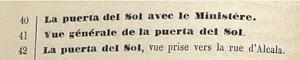 Fragmento del Catálogo de J. Laurent de 1872