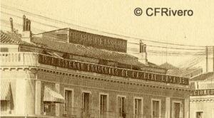 Jean Laurent. Nº 41. Madrid, Puerta del Sol. Detalle. 1867-72. Albúmina