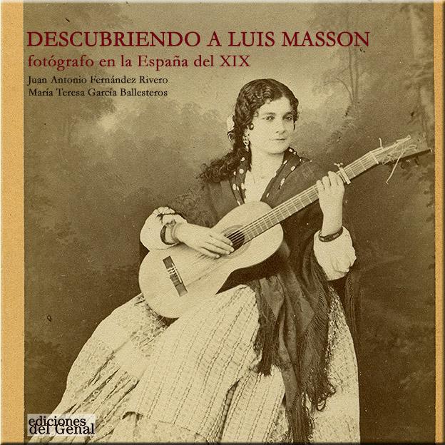 "Portada del libro: ""Descubriendo a Luis Masson""."