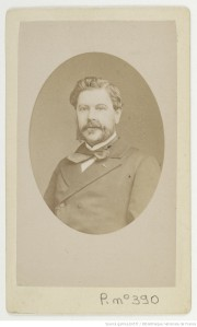 Tourtin, J. Edmond Guillemin-Tarayre. Paris, c.a. 1865. Carte de visite en albúmina. (BnF)