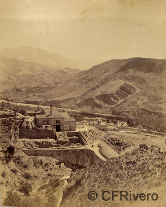 Edmond Guillemin-Tarayre. Vallée du Genil, plateau d'Huetor . Tº aurifère. Granada Mina del Hoyo de la Campana. Albúmina. 1888. (CFRivero)