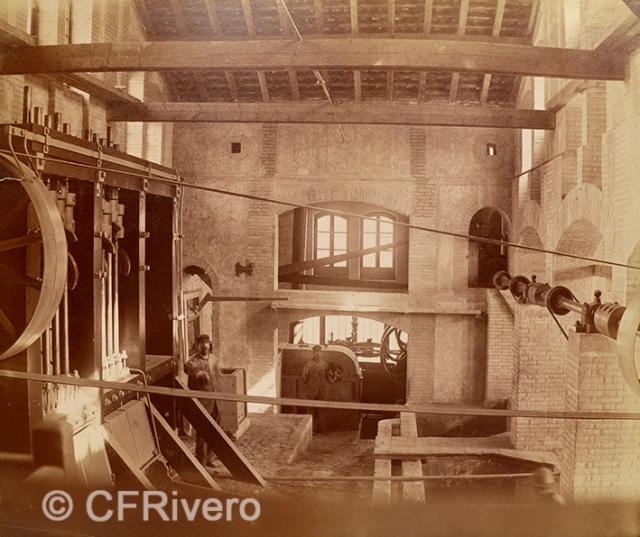 Edmond Guillemin-Tarayre. Usine - La batterie de pilons. Granada, Mina del Hoyo de la Campana. 1888. Albúmina (CFRivero)